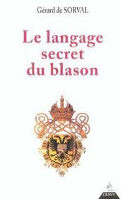 Le Langage Secret Du Blason - Intérieur - Format classique