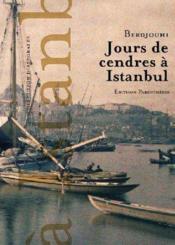 Jours de cendres à Istanbul - Couverture - Format classique