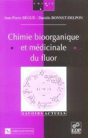 Chimie bioorganique et médicinale du fluor - Intérieur - Format classique