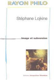 Image et subversion - Intérieur - Format classique