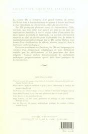 Les rites initiatiques des dii de l'adamaoua (cameroun) - 4ème de couverture - Format classique