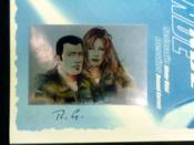 Fox One NDE. Planche pour l'édition spéciale de la Librairie Boulevard des bulles, ornée d'une vignette argentée. Numéroté 23/30, signée par R. Garreta - Couverture - Format classique