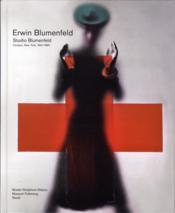 Studio Blumenfeld, New York, 1941-1960 - Couverture - Format classique