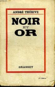 Noir Et Or. - Couverture - Format classique