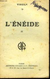 L'Eneide. Tome 3. Collection : Les Meilleurs Livres N° 57. - Couverture - Format classique