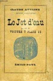 Le Jet D'Eau - Couverture - Format classique