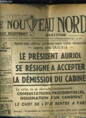 Le Nouveau Nord Maritime N°906 - 5eme Annee - Vendredi 7 Octobre 1949. - Couverture - Format classique