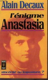 L'Enigme Anastasia - Couverture - Format classique