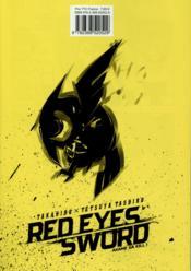 Red eyes sword - Akame ga Kill T.3 - 4ème de couverture - Format classique