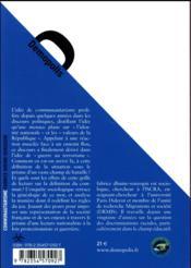 Communautarisme ; enquête sur une chimère du nationalisme français - 4ème de couverture - Format classique