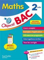 Objectif bac ; maths ; 2nde - Couverture - Format classique