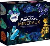 Mon coffret Montessori ; minéraux - Couverture - Format classique