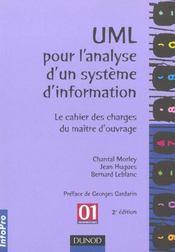 Uml Pour L'Analyse D'Un Système D'Information - Intérieur - Format classique