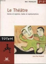 Le théâtre - Couverture - Format classique