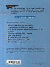 Étude sur Jacques le fataliste, de Denis Diderot (2e édition) - 4ème de couverture - Format classique