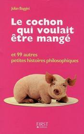 Le cochon qui voulait etre mange - Intérieur - Format classique