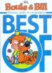 Boule & Bill ; best of t.3 ; plumes, poils et compagnie - Intérieur - Format classique