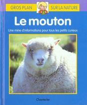 Gros Plan Sur La Nature 2. Le Mouton - Intérieur - Format classique