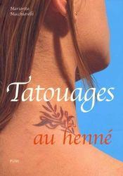 Tatouages au henne - Intérieur - Format classique