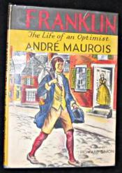 The life of an optimist, Franklin - Couverture - Format classique