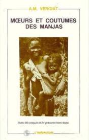Moeurs et coutumes des manjas - Couverture - Format classique