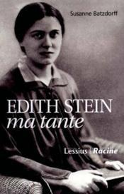 Edith Stein Ma Tante - Couverture - Format classique