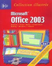 Office 2003. exercices, pdf et solutions - Intérieur - Format classique