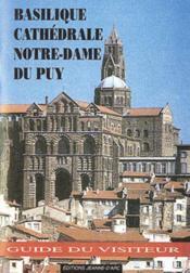 Basilique notre-dame du puy - Couverture - Format classique