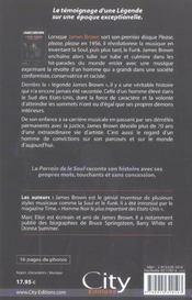 James brown l'autobiographie - 4ème de couverture - Format classique
