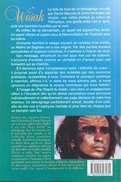 Wesak. L'Heure De La Reconciliation - 4ème de couverture - Format classique