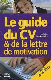 telecharger Le guide du CV et de la lettre de motivation (edition 2009) livre PDF en ligne gratuit