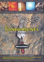 Les Fondements Manuel Du Participant - Couverture - Format classique
