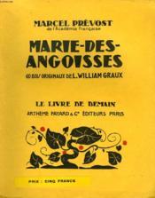 Marie Des Angoisses. 60 Bois Originaux De L. William Graux. Le Livre De Demain N° 170. - Couverture - Format classique