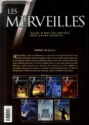 Les 7 merveilles t.4 ; le temple d'Artémis - 4ème de couverture - Format classique