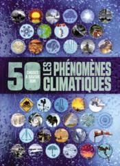 50 choses que vous devriez savoir sur le climat et la météorologie - Couverture - Format classique