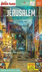 GUIDE PETIT FUTE ; CITY GUIDE ; Jérusalem (édition 2020/2021) - Couverture - Format classique