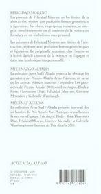 Felicidad moreno - 4ème de couverture - Format classique