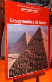 Les Pyramides De Gizeh - Couverture - Format classique