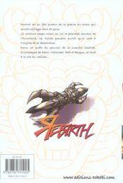 Rebirth t.3 - 4ème de couverture - Format classique