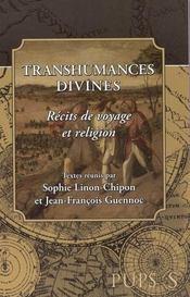 Transhumances divines. recits de voyage et religion - Intérieur - Format classique