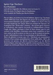 Les funestes - 4ème de couverture - Format classique