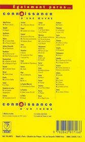 Poésies, d'Arthur Rimbaud - 4ème de couverture - Format classique