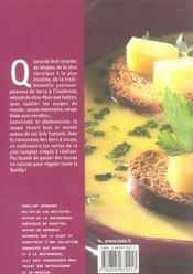 Les Soupes Veloutes Soupes Glacees Consommes Et Autres Potages - 4ème de couverture - Format classique