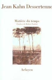 Matiere Du Temps - Intérieur - Format classique