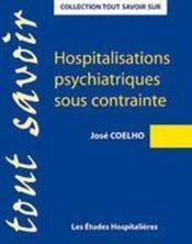 Hospitalisations psychiatriques sous contrainte - Couverture - Format classique