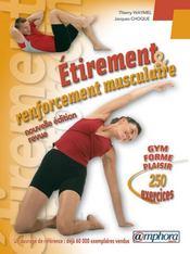 Étirement et renforcement musculaire ; 250 exercices - Intérieur - Format classique