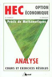 Analyse - Intérieur - Format classique