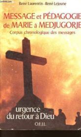Messag Et Pedag Marie Med - Couverture - Format classique