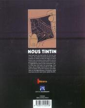 Nous Tintin - 4ème de couverture - Format classique