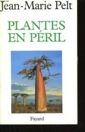 Plantes en péril - Couverture - Format classique
